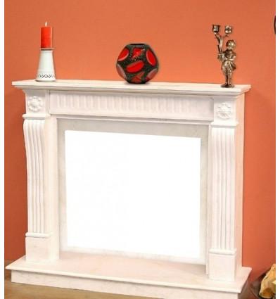 Облицовка для дровяных каминов DeMarco VESTA Carrara Light