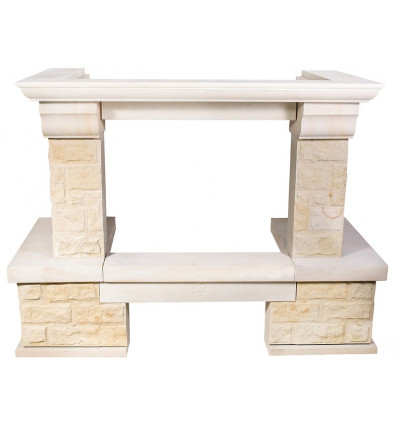 Облицовка для дровяных каминов MadeIra Crocus Giallo M c700