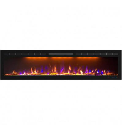 Линейный электрокамин Royal Flame Crystal 72 RF