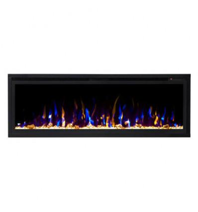 Линейный электрокамин Real-Flame Saphir 60