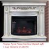 Широкий очаг 2D Royal Flame Dioramic 25 LED FX