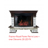 Широкий очаг 2D Royal Flame Dioramic 28 LED FX