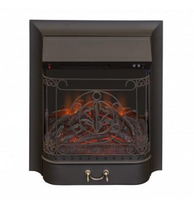 Классический очаг 2D Real-Flame Majestic Lux Black (MU24)
