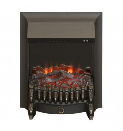 Классический очаг 2D Real-Flame Fobos Lux Black (AF65)