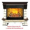 Широкий портал Real-Flame Stone new 33