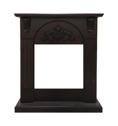 Классический портал для камина Royal Flame Chester Wood под очаг Vision 18 LED FX Темный дуб