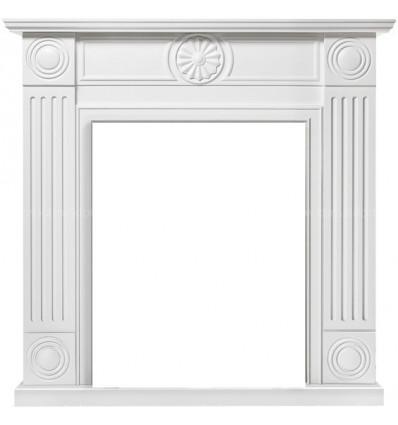 Классический портал для камина Electrolux Frame Classic белый