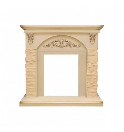Классический портал для камина Royal Flame Bern крупный сланец бежевый под классический очаг