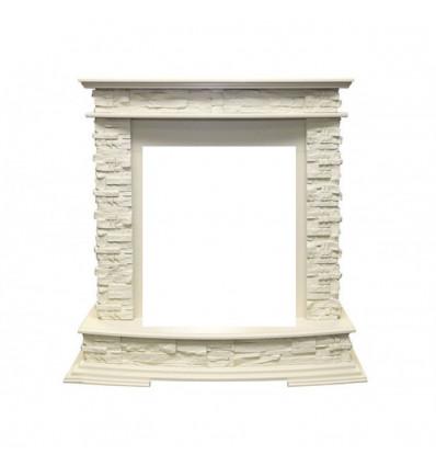 Классический портал для камина Royal Flame Luzern сланец белый под классический очаг