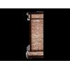 Классический портал для камина Electrolux Scala Classic сланец скалистый Бурый/Тёмный дуб