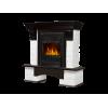 Классический портал для камина Electrolux Forte Classic Белый/Темный дуб
