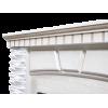 Классический портал для камина Electrolux Porto Classic Белый/Белёный дуб