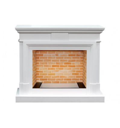 Широкий портал Royal Flame Coventry под очаг Dioramic 28 LED FX Белый