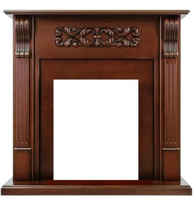 Классический портал для камина Royal Flame Venice под классический очаг махагон коричневый антик