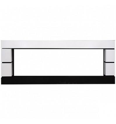 Линейный портал Royal Flame Modern 60 под очаг Vision 60 LED Белый с черным