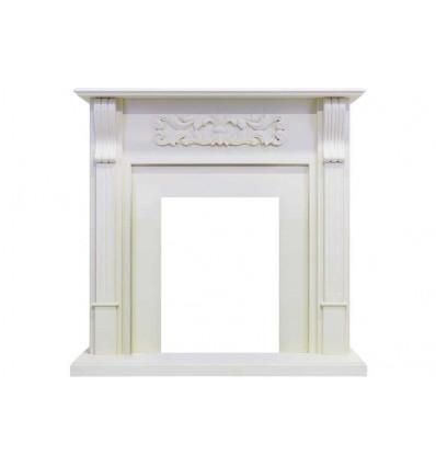 Классический портал для камина Royal Flame Venice под классический очаг (Фактурный белый)