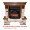 Классический портал для камина Royal Flame Pierre Luxe сланец под классический очаг (Дуб)