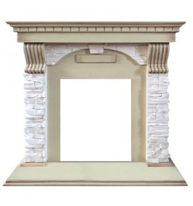 Классический портал для камина Royal Flame Dublin арочный сланец крем под классический очаг