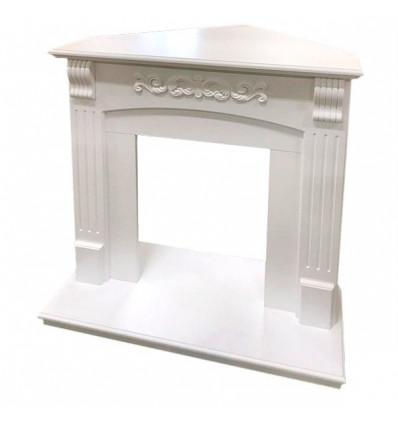 Угловой классический портал Royal Flame Sorrento угл. под классический очаг (Белый дуб)