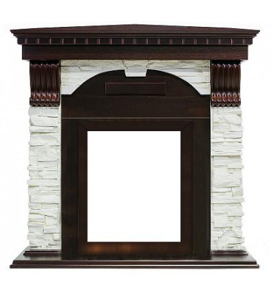 Классический портал для камина Royal Flame Dublin арочный сланец белый угл. под классический очаг