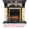 Угловой классический портал Royal Flame Dublin арочный сланец угл. под классический очаг