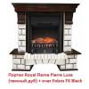 Классический портал для камина Royal Flame Pierre Luxe под классический очаг (Темный дуб)