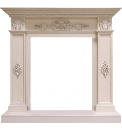 Классический портал для камина Royal Flame Derby под классический очаг (белый дуб)