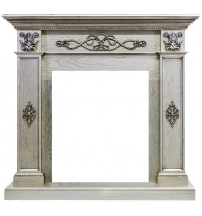Классический портал для камина Royal Flame Derby под классический очаг (old silver)