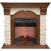 Современный электрический камин Real-Flame Dublin LUX STD/EUG/24 AO с очагом Irvine 24