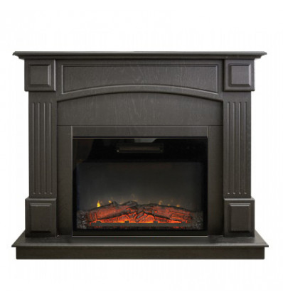 Пристенный камин в квартиру электрический Real-Flame Carolina 25,5/24 DN с очагом Kendal 24