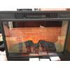 Электрокамин (очаг+портал) с эффектом живого пламени Real-Flame Athena GR STD/EUG/25/24 WT с очагом Irvine 24