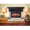 Современный камин для загородного дома Real-Flame Gracia 25'5/24 AO с очагом Irvine 24