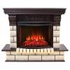 Камин электрический с эффектом пламени Real-Flame Gracia 25'5/24 AO с очагом Sparta 25,5 LED