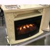 Электрокамин с широким очагом 2D Real-Flame Izabella 33 WT Firespace 33 S IR
