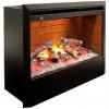 Камин электрический с эффектом пламени 3D Real-Flame Malta 25,5/26 WT с очагом 3D Helios 26