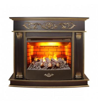 Электрокамин с широким очагом 3D Real-Flame Milano 25/25,5 3D Firestar 25,5