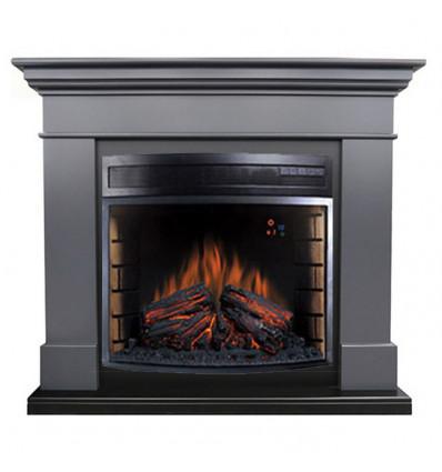 Электрокамин с широким очагом 2D Royal Flame California Graphite grey с очагом Dioramic 28 LED FX