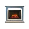 Электрокамин с широким очагом 2D Real-Flame Canada 25,5 WT Light с очагом Evrika 25,5
