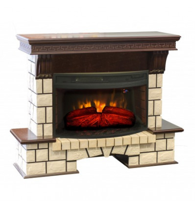Электрокамин Stone New 33 AO с FireSpace 33W S IR