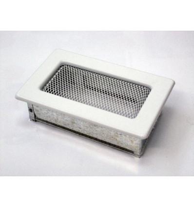 Вентиляционная решетка для камина Kratki 11х17 белая 117B