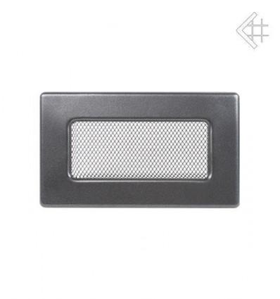 Вентиляционная решетка для камина Kratki 11х17 графитовая 117G