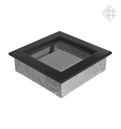 Вентиляционная решетка для камина Kratki 17х17 черная 17C