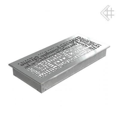 Вентиляционная решетка для камина Kratki 17x37 ABC стальная 37ABC/SZ