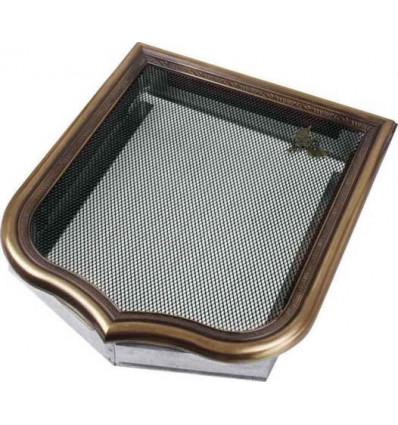Вентиляционная решетка для камина Kratki Герб 28х33 HERB