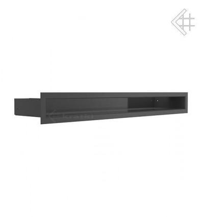 Вентиляционная решетка для камина Kratki Люфт черная 6x60 LUFT/6/60/45S/C