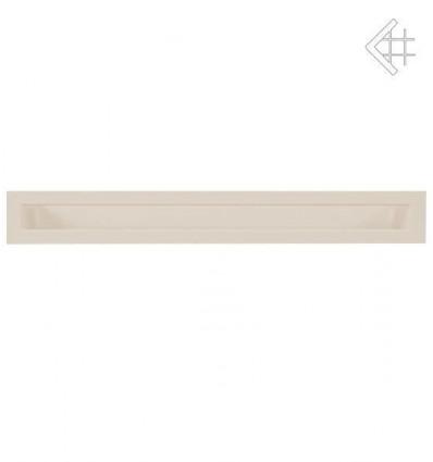 Вентиляционная решетка для камина Kratki Люфт бежевая 6x80 LUFT/6/80/45S/K