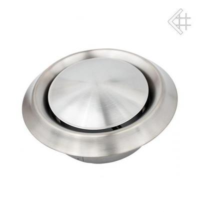 Вентиляционная решетка для камина Kratki Анемостат стальной д.150 ANEMOSTAT/150/STAL