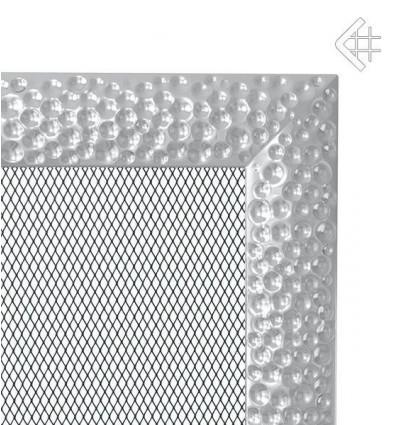 Вентиляционная решетка для камина Kratki 17x17 Venus никелированная 17VN