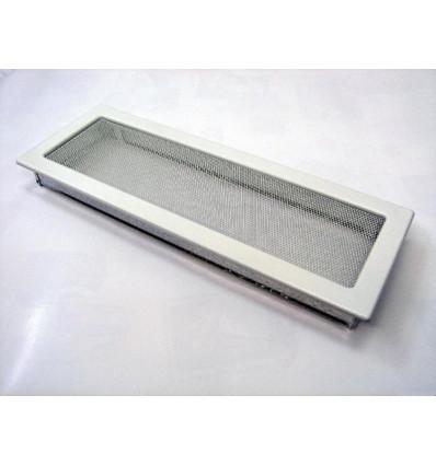 Вентиляционная решетка для камина Kratki 17х49 белая 49B