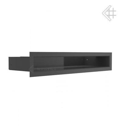 Вентиляционная решетка для камина Kratki Люфт черная 6x40 LUFT/6/40/45S/C
